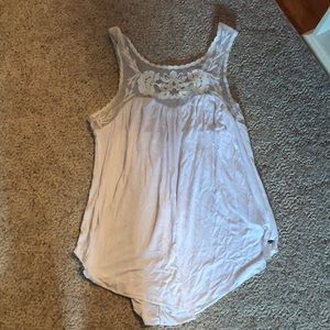 american eagle lace soft and sexy size small top